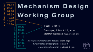 Mechanism Design Working Group